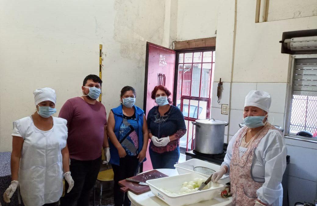 Proponen asistencia para la economía popular, comedores comunitarios y víctimas de violencia de género en la Ciudad