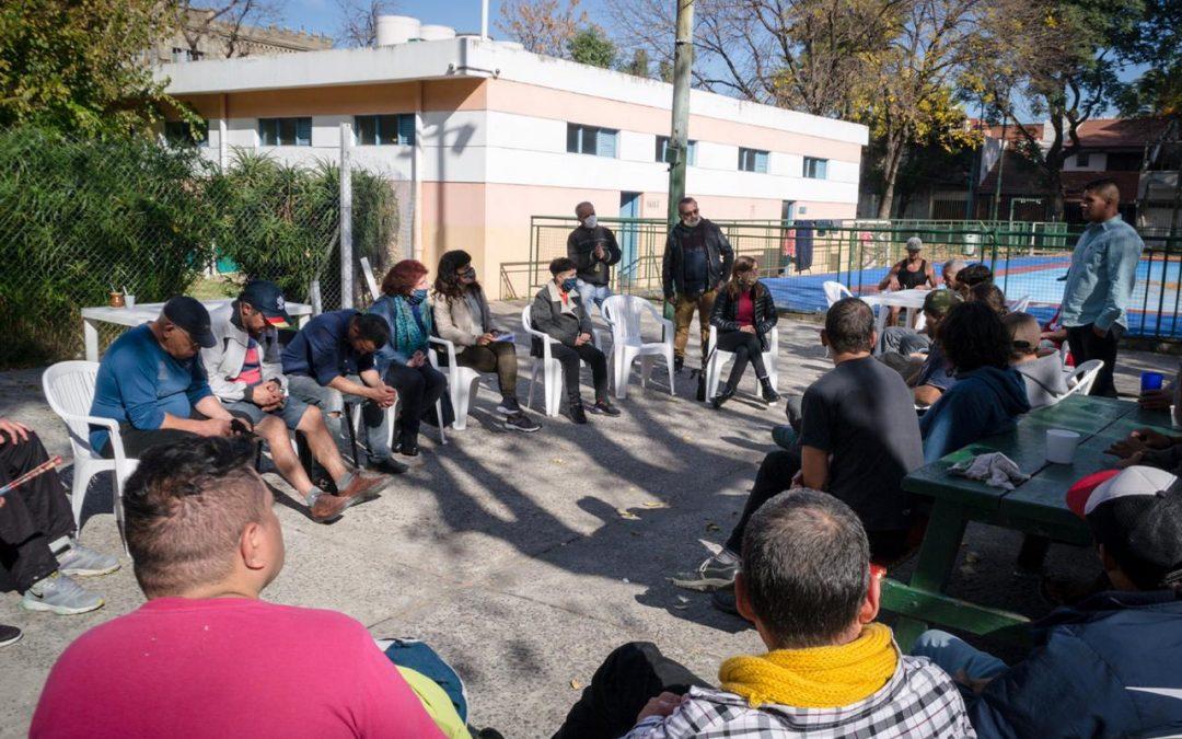 Campaña solidaria para ayudar a personas en situación de calle de la Ciudad de Buenos Aires