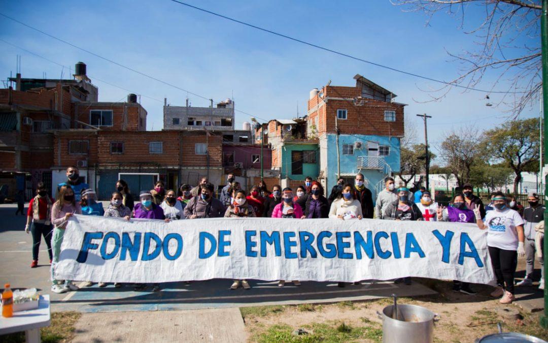 Fondo de Emergencia Ya: Exigen al Gobierno porteño recursos y reconocimiento para sostener la asistencia en los barrios