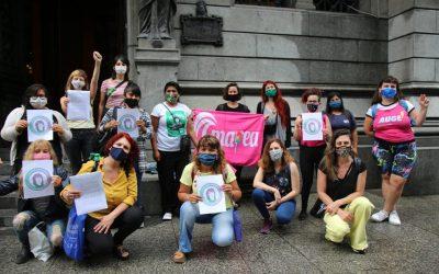 """#25N   Laura Velasco: """"Urge un Ministerio de las Mujeres, Géneros y Diversidad en la Ciudad para tener políticas públicas con presupuesto que frenen la violencia de género"""""""