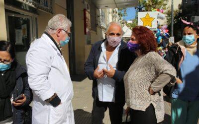 """Laura Velasco: """"La desprotección del gobierno porteño hacia el personal de la salud es insostenible"""""""